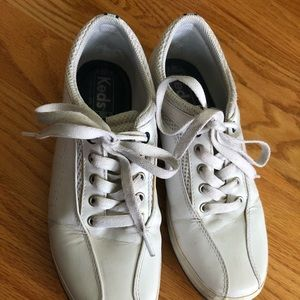 Keds white sneakers size 7